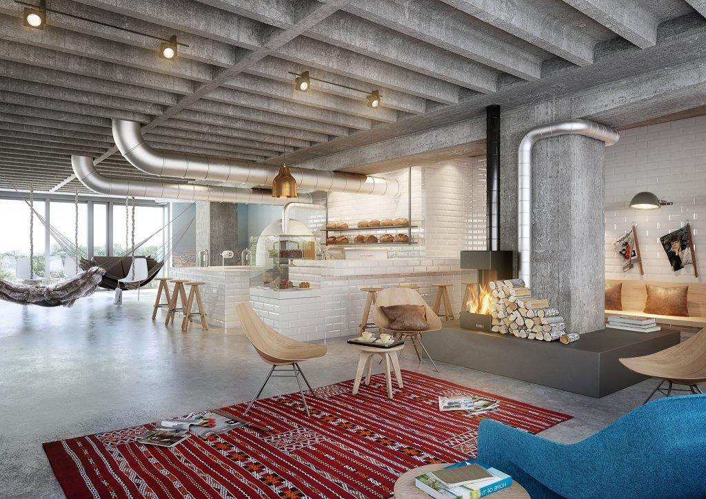 25 hour bikini hotel berlin jungle heaven archinature. Black Bedroom Furniture Sets. Home Design Ideas