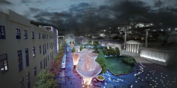 51380fbdb3fc4bbbbe000037_re-think-athens-competition-entry-abm-arquitectos_view_trylogy_square_aerial_night-528x264