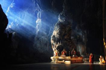Kyaut Sae Cave, Myanmar Image credits: Leopard