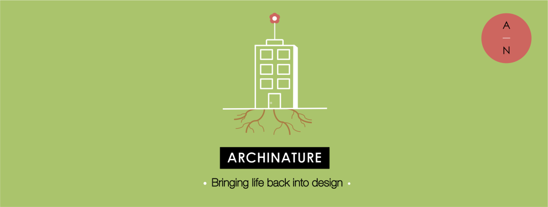 archinature, logo, design, life, architecture, nature