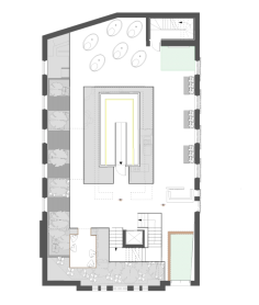 Well-being centre: ground floor