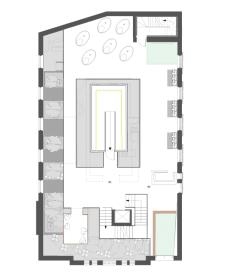 Well-being centre: ground floor