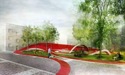 Propuesta para el Mercado y Plaza Zdunski Mado Architekci ArchDaily Brasil