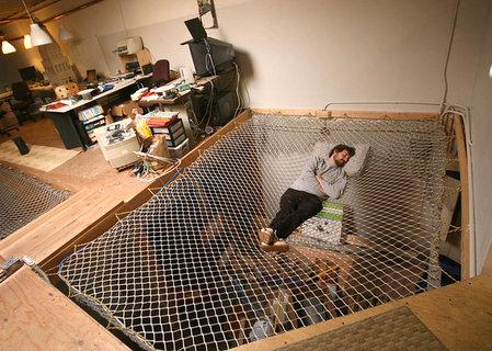 Office hammock bed